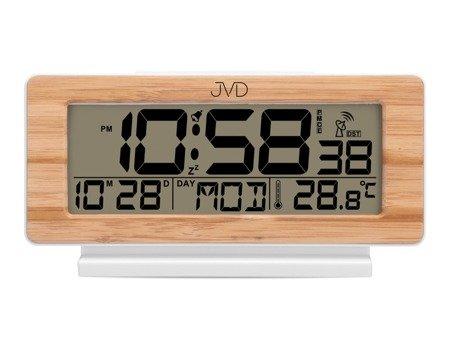 Budzik JVD STEROWANY RADIOWO duży 17cm RB3523.3