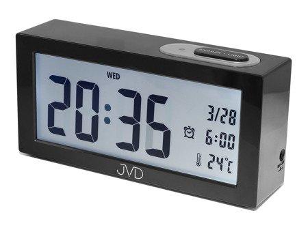 Budzik JVD termometr SENSOR LIGHT 15 cm SB138.1