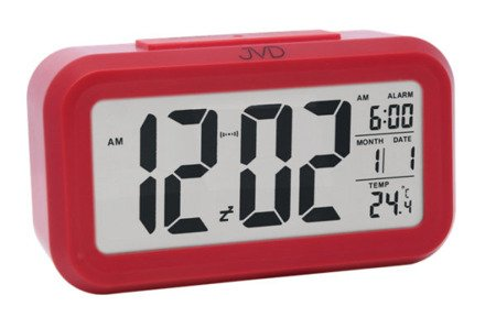 Budzik JVD termometr SENSOR LIGHT SB18.2