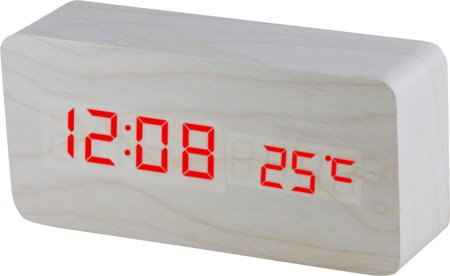 Budzik MPM sieciowy termometr 3 alarmy C02.3564.00