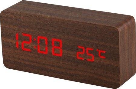 Budzik MPM sieciowy termometr 3 alarmy C02.3564.50
