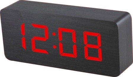 Budzik MPM sieciowy termometr 9x21 cm C02.3565.90