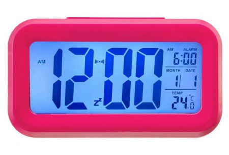 Budzik Xonix alarm temp. 13,5 cm GHY-510 PINK
