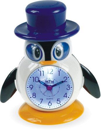Budzik dziecięcy pingwin kolorowy C01.2557.00