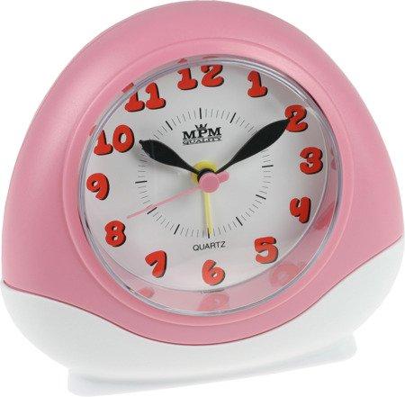 Budzik dziecięcy różowy powtarzanie budzenia podświetlenie C01.2564.23