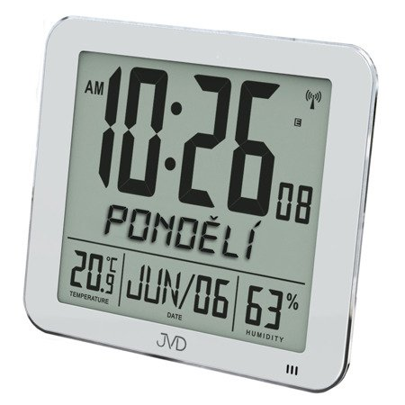 Zegar/Budzik radiowy POLSKIE nazwy DUŻY DH9335.1