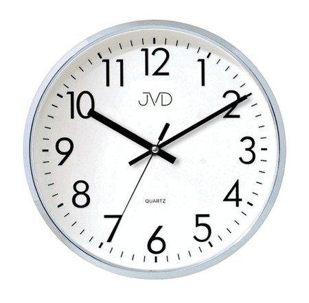 Zegar JVD ścienny 32 cm CICHY nowoczesny HA43.1