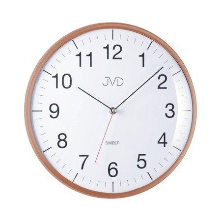 Zegar JVD ścienny 33 cm CICHY nowoczesny HA16.4