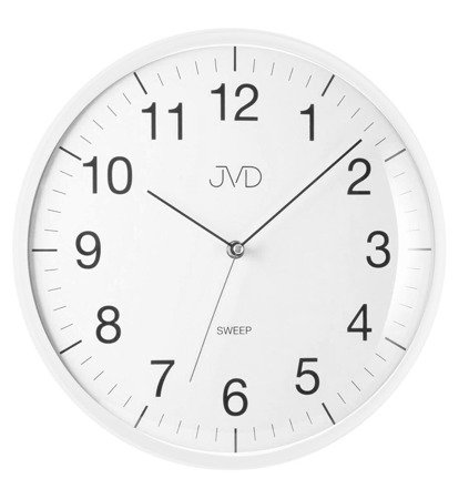 Zegar JVD ścienny 33 cm CICHY nowoczesny HA16.5
