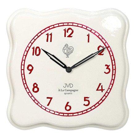 Zegar JVD ścienny CERAMICZNY 25 cm TS2615.3