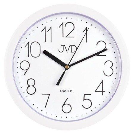 Zegar JVD ścienny CICHY czytelny HP612.1