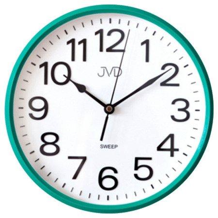 Zegar JVD ścienny CICHY czytelny HP683.4
