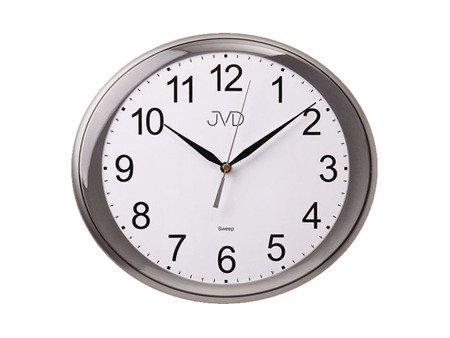 Zegar JVD ścienny CICHY szary HP664.2