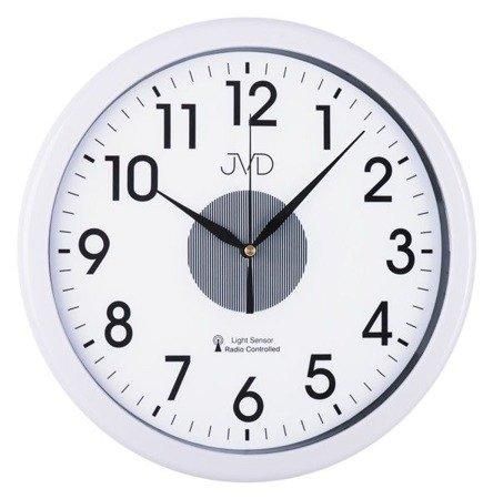 Zegar JVD ścienny DCF77 PODŚWIETLANY 31 cm RH692.1