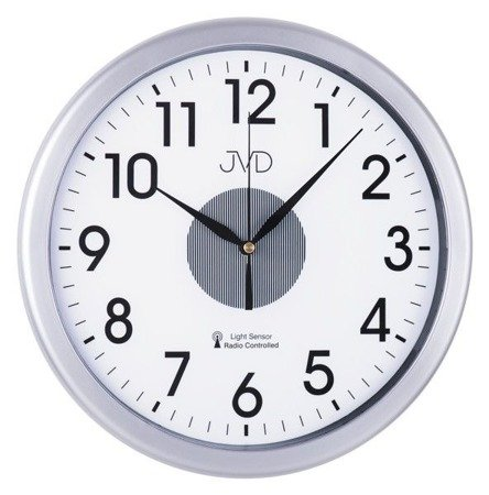 Zegar JVD ścienny DCF77 PODŚWIETLANY 31 cm RH692.3