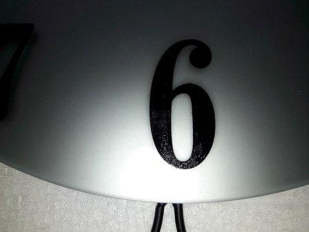 Zegar JVD ścienny DUŻY 66 cm KRYSZTAŁY HJ93-A