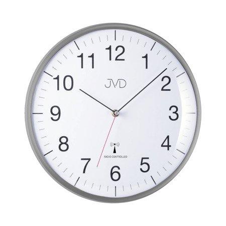 Zegar JVD ścienny STEROWANY RADIOWO 33 cm RH16.2