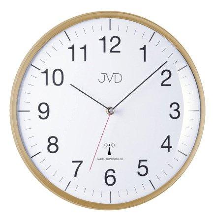 Zegar JVD ścienny STEROWANY RADIOWO 33 cm RH16.3