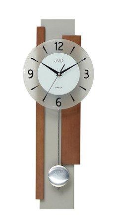 Zegar JVD ścienny WAHADŁO drewno 60 cm NS18059.41