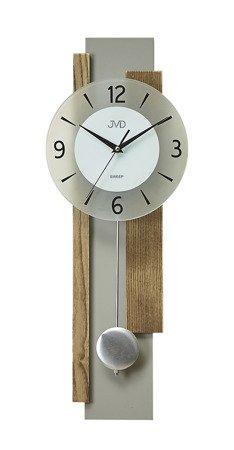 Zegar JVD ścienny WAHADŁO drewno 60 cm NS18059.78