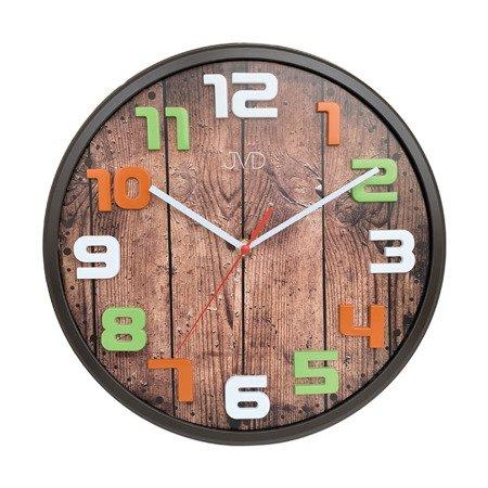 Zegar JVD ścienny dziecięcy CICHY 30,5 cm HA51.2