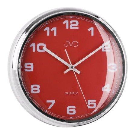 Zegar JVD ścienny nowoczesny cichy (płynący sekundnik) HA4.3