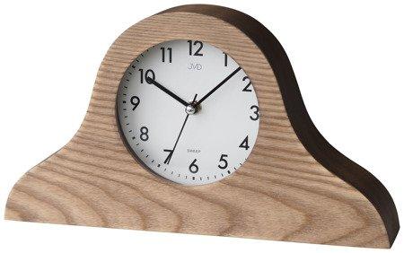 Zegar JVD stojący kominkowy drewniany cichy HS19.1