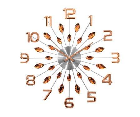 Zegar LAVVU ścienny KRYSZTAŁY DUŻY 49 cm LCT1192