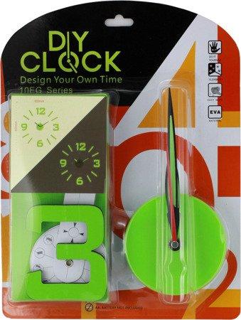 Zegar MPM ŚCIENNY naklejany zielony 60 cm MPM E01.3514