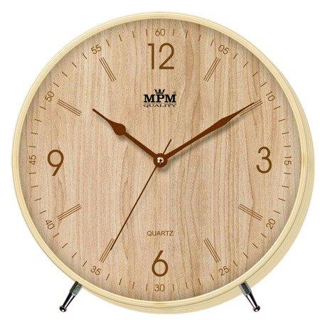 Zegar MPM ścienny 21,5cm nowoczesny nowy model E01.2977.51.B