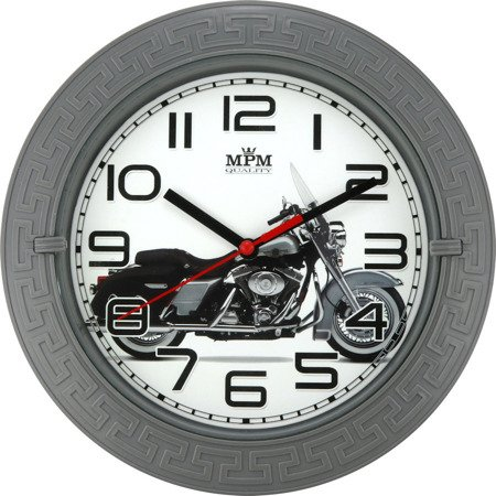 Zegar MPM ścienny 22 cm dziecięcy CICHY E01.3688.92