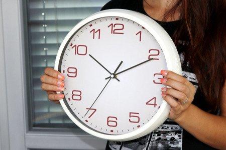 Zegar MPM ścienny 31 cm  czytelny E01.3690.01