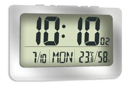 Zegar budzikJVD cyfrowy ścienny stojąc duży DH1708