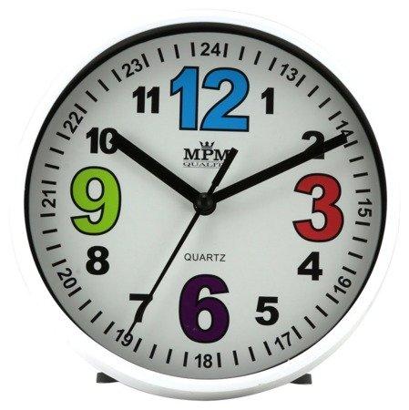 Zegar MPM dziecięcy 14,5 cm nauka godzin edukacyjny kolorowy E01.3685.00