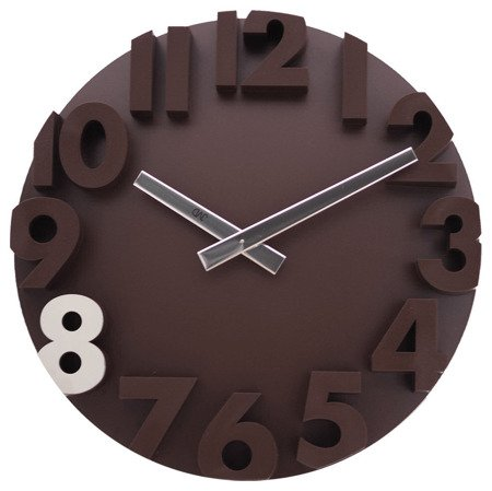 Zegar ścienny JVD nowoczesny 3D tworzywo HC16.1