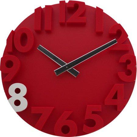 Zegar ścienny JVD nowoczesny 3D tworzywo HC16.4