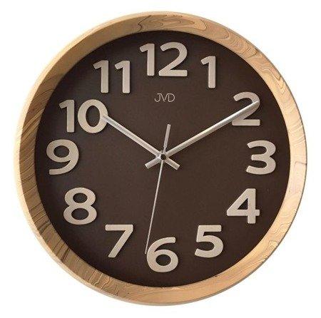 Zegar ścienny JVD nowoczesny nowy model HT073.2