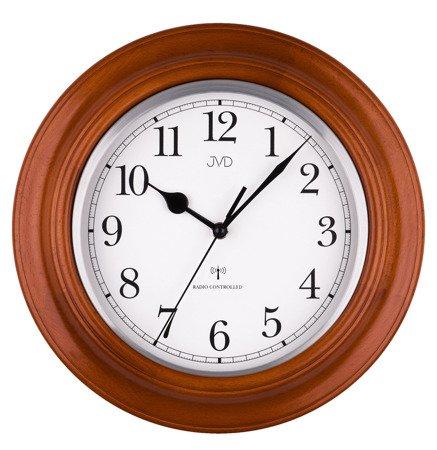 Zegar JVD ścienny klasyczny STEROWANY RADIOWO NR27043.41