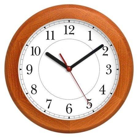 Zegar ścienny drewniany ATW301A CLV