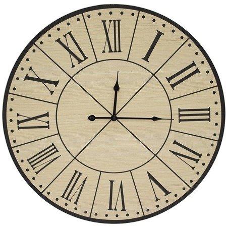 Zegar ścienny drewniany nowoczesny loft duży 103690