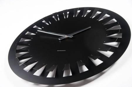 Zegar ścienny metalowy LOFT duży 50 cm HS-5002LB
